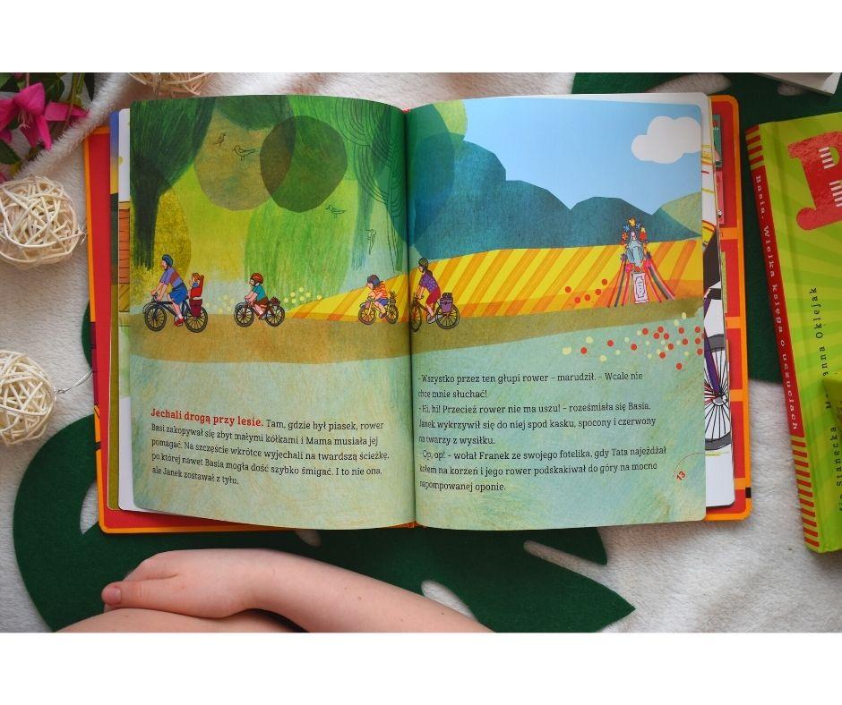 basia irower ksiązki dla przedszkolaków basia recenzja