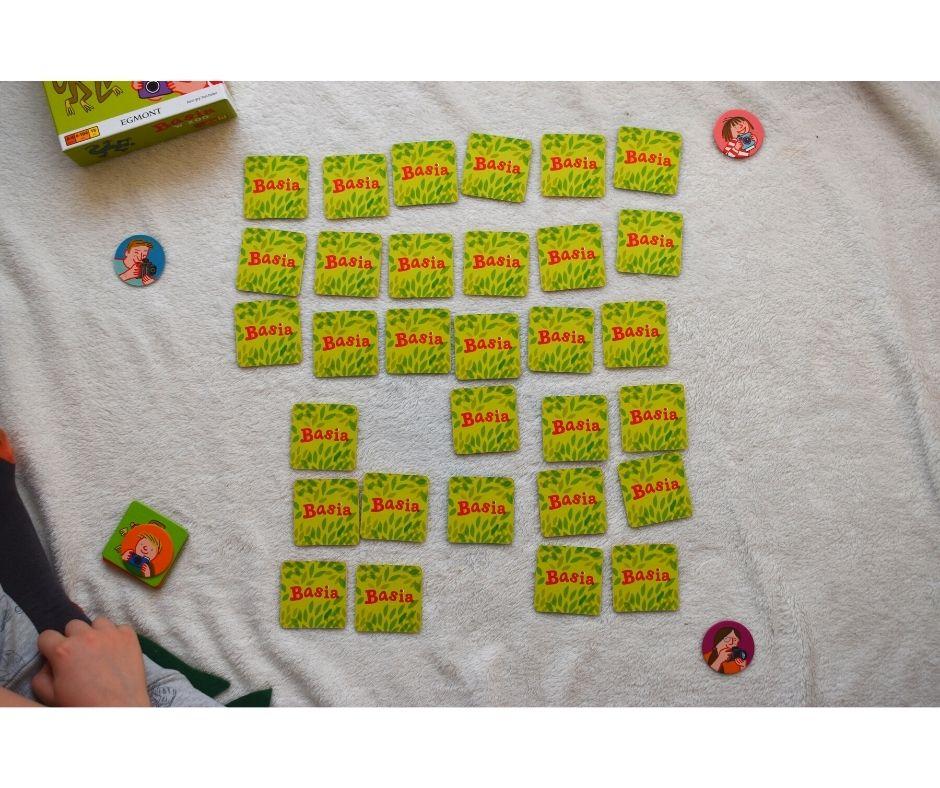 basia wzoo gra planszowa dla przedszkolaków gry dla dzieci