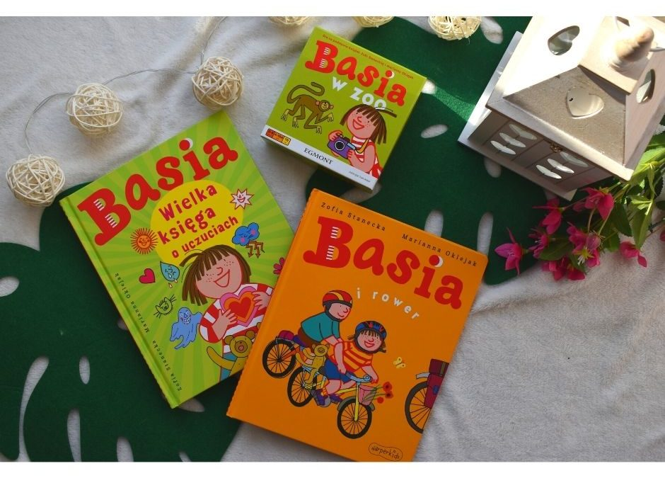 """""""Basia""""- najlepsze książki igra dla przedszkolaka"""
