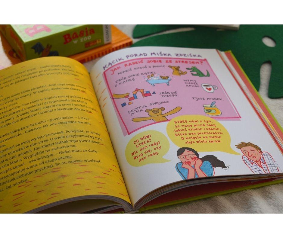 basia wielka księga ouczuciach, książki ouczuciach dla dzieci, emocje przedszkole