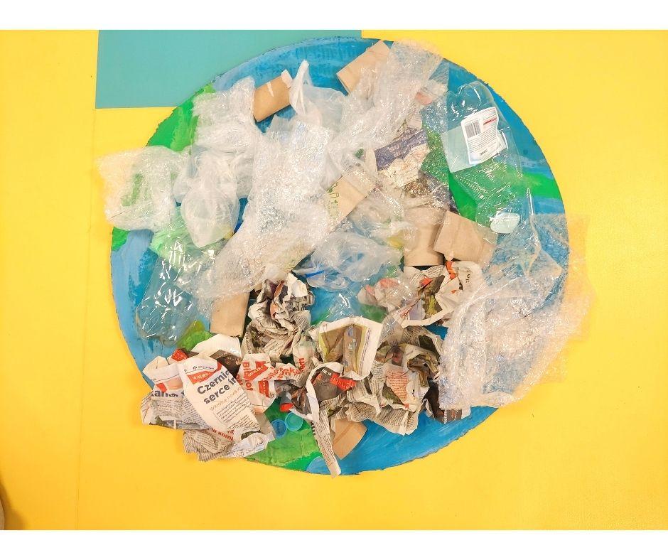 segregacja odpadów ziemia ekologia dzień ziemi przedszkole