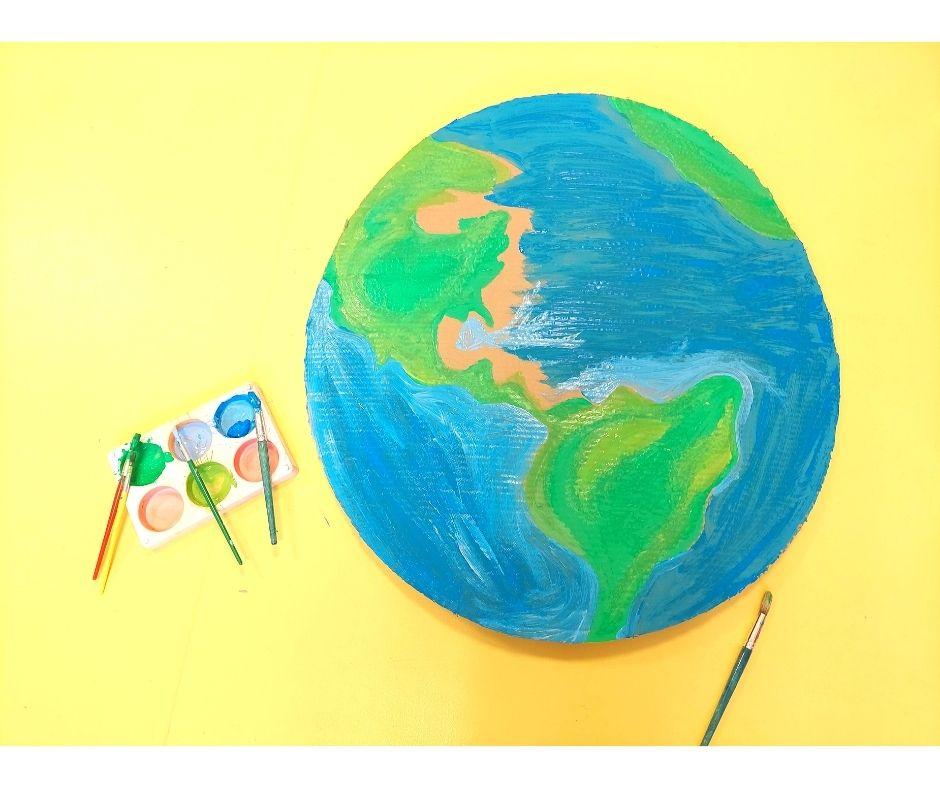 dzień ziemi przedszkole, pomysły zokazji Dnia Ziemi