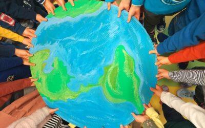 Dzień Ziemi, segregacja odpadów, recykling- przedszkole