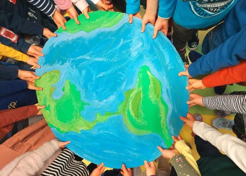 dzień ziemi przedszkole, pomysły z okazji Dnia Ziemi