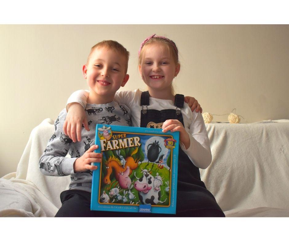 super farmer recenzja opinie gra rodzinna gry dla dzieci