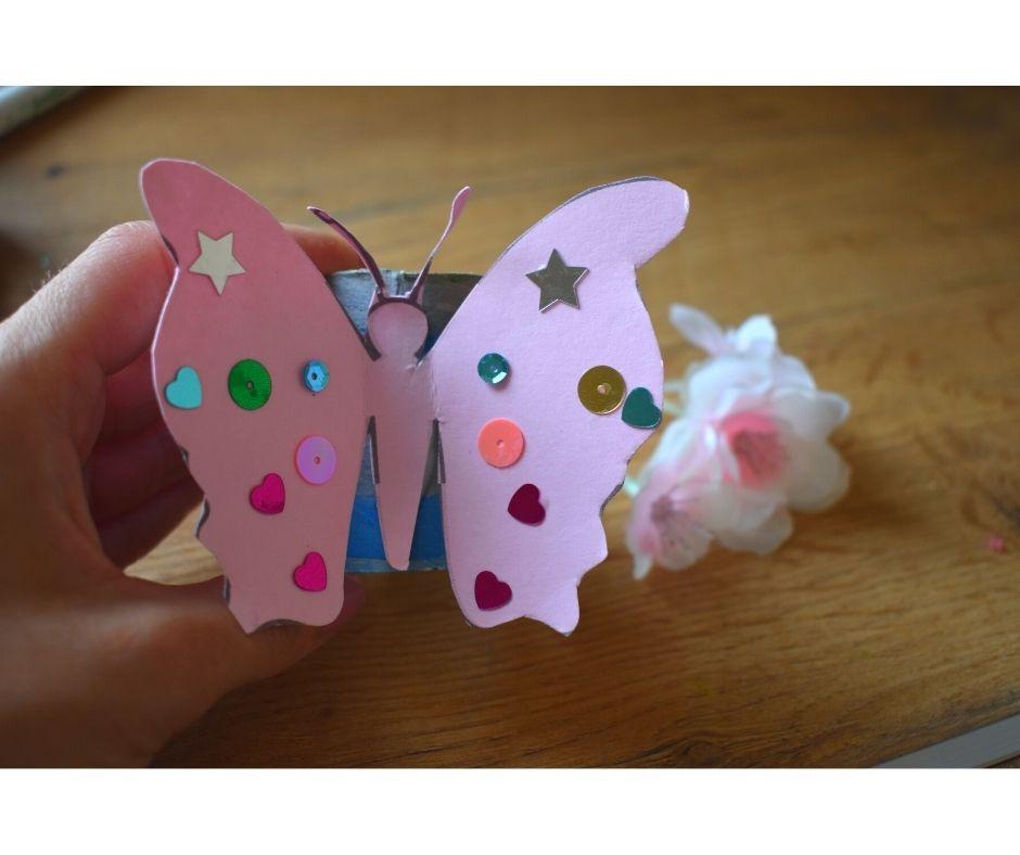 bransoletka zrolki, wiosna lato przedszkole, motyl kwiatek szablon dodruku