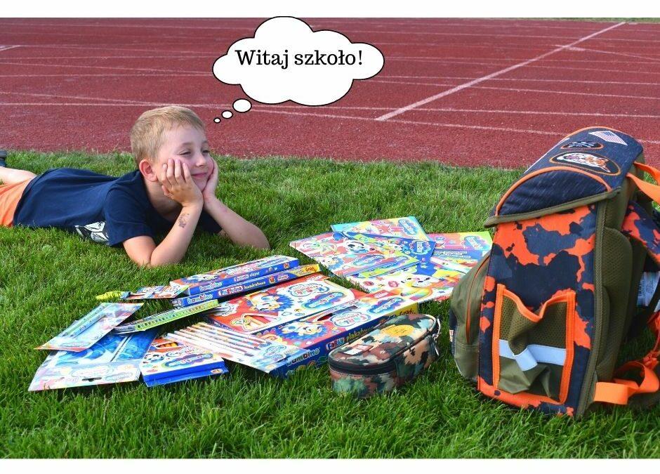 Wyprawka szkolna pierwszoklasisty + lista dodruku