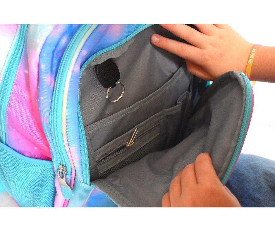 wyprawka szkolna biedronka promocje, loozz plecak opinie, plecak dla dziewczynki