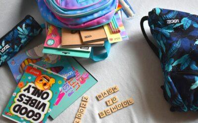 Plecak szkolny dla dziewczynki iwyprawka