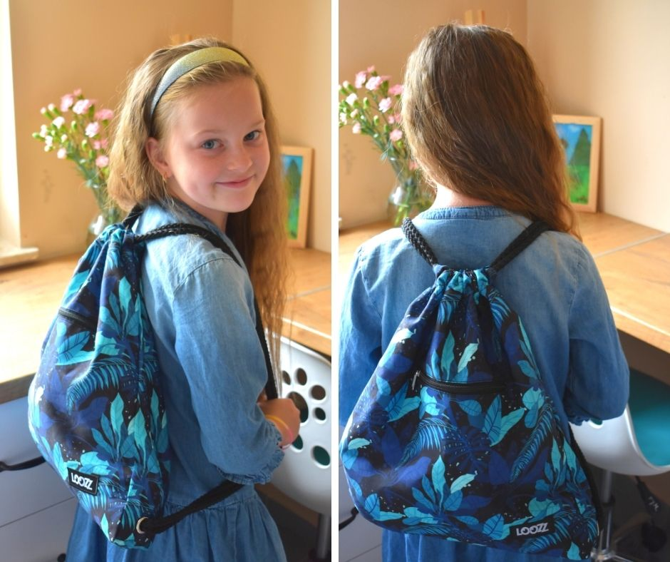 wyprawka szkolna biedronka promocje, loozz produkty plastyczne, plecak dla dziewczynki
